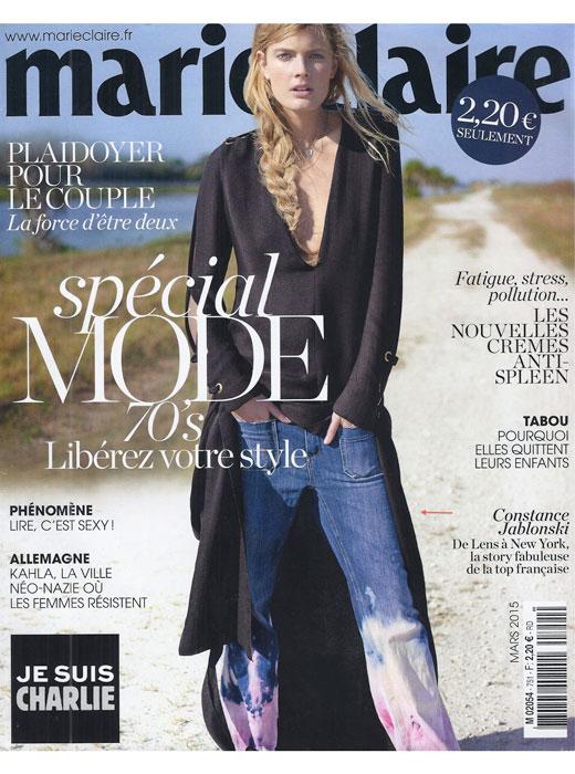 Acquaverde - Parution Marie Claire - Mars 2015