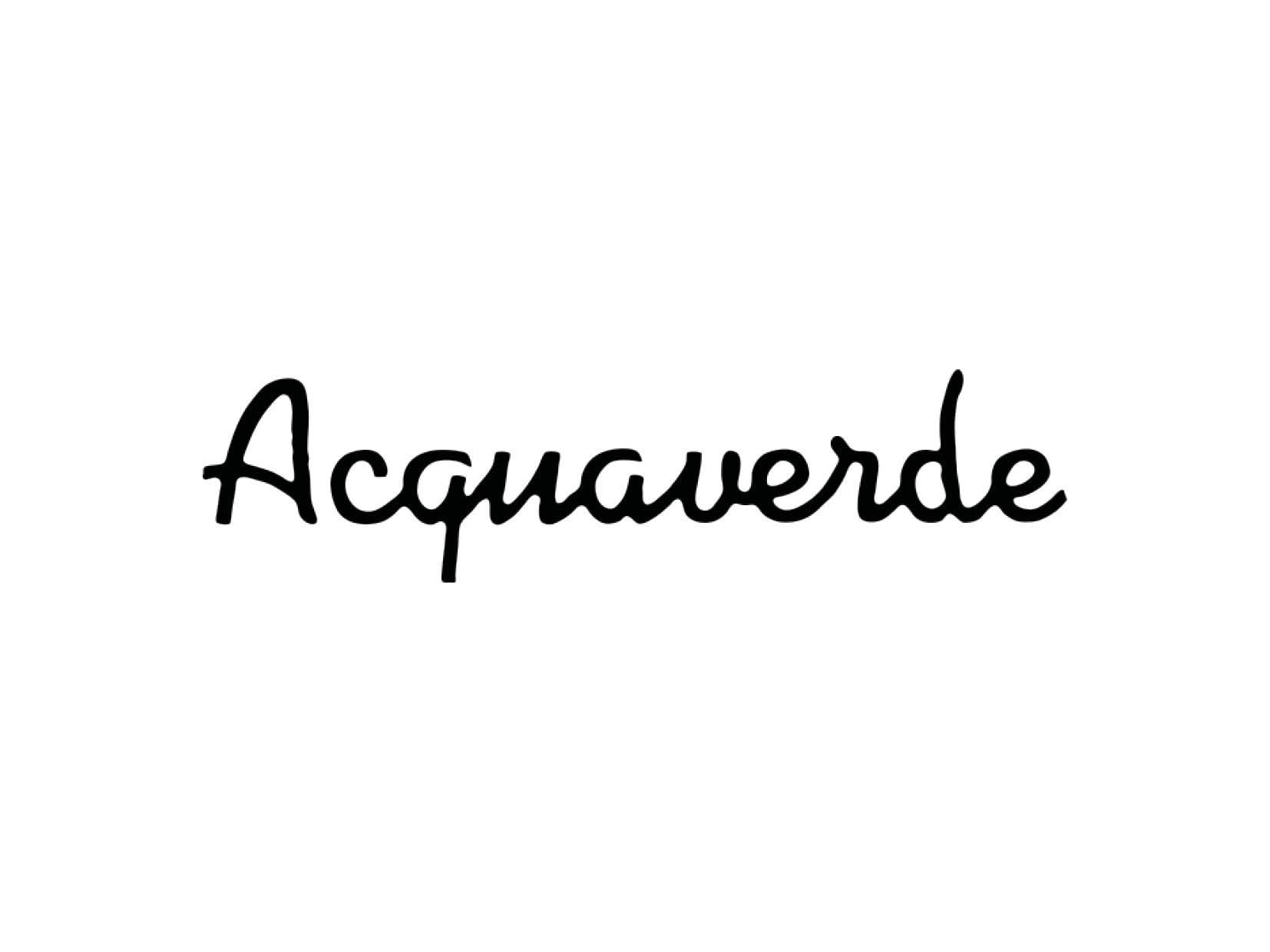 Acquaverde - FW2020